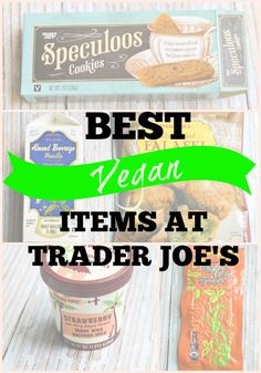 Helpful list of the the top vegan items at Trader Joe's! | adashofsoul.com