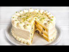 Vannak még ünnepnapok - Oroszkrém torta (Szécsi Szilvi) - YouTube Hungarian Recipes, Cake Ingredients, Cream Cake, Raisin, Cake Recipes, Vanilla, Make It Yourself, Fruit, Youtube