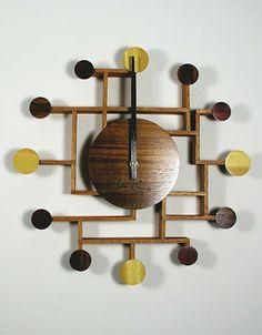 I like this idea for a clock