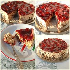 Greek Desserts, Greek Recipes, No Bake Desserts, Cheesecakes, No Bake Cake, Tiramisu, Deserts, Food And Drink, Cooking Recipes
