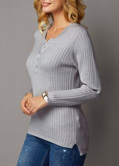 trendy tops for women online on sale Trendy Tops For Women, Off Black, Adult Costumes, Sweater Outfits, Navy, Button, Long Sleeve, Sleeves, Sweaters