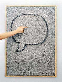 Dedo message board / Gonçalo Campos | AA13 – blog – Inspiration – Design – Architecture – Photographie – Art