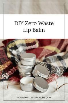 Homemade Lip Balm, Diy Lip Balm, Homemade Beauty, Eco Beauty, Clean Beauty, Natural Beauty, Back Of My Hand, Lip Balm Recipes, No Waste