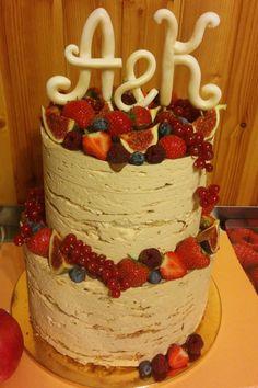 Свадебные торты без мастики на заказ в Одинцово и Москве