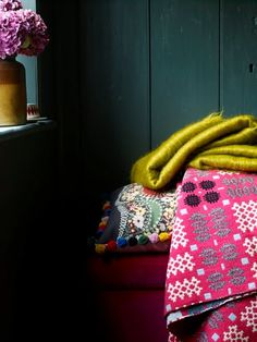ethnic inspired throws