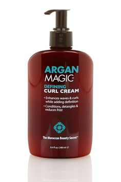 Argan Oil Enriched Defining Curl Cream By Magic Hair On Hautelook