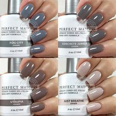 A Few LeChat Perfect Match Neutral Shades