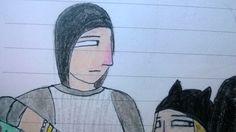 Assassins creed custom modern OC character Kass Vincent art drawing