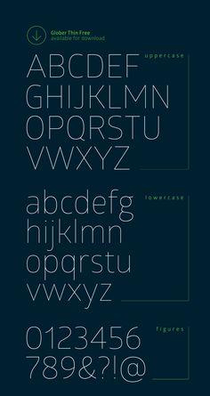 Glober free font 02 http://fontfabric.com/glober-free-font/