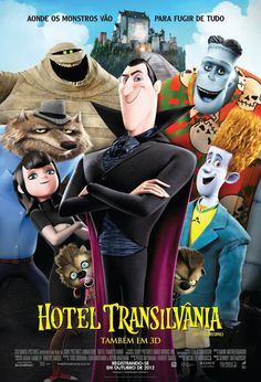 In theaters September 21 from Sony is Hotel Transylvania, their animated horror comedy featuring the voice works of Adam Sandler, Kevin James, Fran Dresche Streaming Movies, Hd Movies, Movies Online, Hd Streaming, Animated Halloween Movies, Scary Halloween, Hotel Transilvanie, Love Movie, Movie Tv