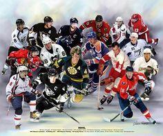 National Hockey League (NHL) by Wishum Gregory  8e1b2ff90