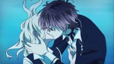 Ayato x Yui. Their kiss underwater which underwater kisses are the best, and I think I ship them the most