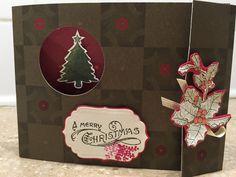 Folded Christmas Card