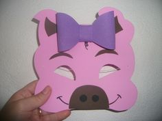 9 Cute Pig Arts And Crafts Ideas for Kids and Toddlers Pig Crafts, New Year's Crafts, Sand Crafts, Book Crafts, Arts And Crafts, Three Little Pigs Story, Chinese New Year Crafts For Kids, Pig Mask, Spring Art Projects