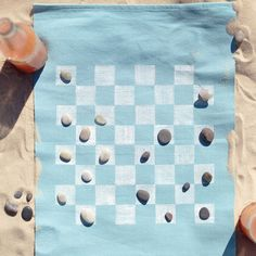 Portable Game Board for the Beach and more on MarthaStewart.com