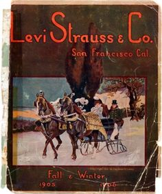 Levi Strauss & Co. Catalog  1905/06