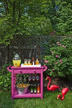 It's quite a cool concept to create a bar. The easiest way to do a bar is to receive one particular cart in this way. If you'd like to go for a lower bar, there are various size choices for bar stools that you are able to find at various stores.