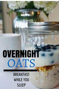 overnight oats // healthy breakfast