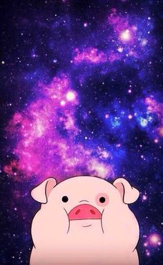 Imagem de pato, pig, and wallpaper