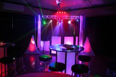 Change the mood of your event with uplighting.