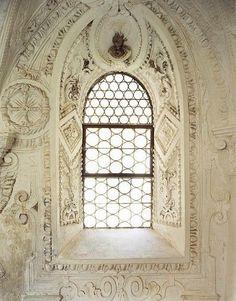 Beautiful leaded window