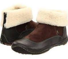 Jambu Birmingham Barefoot Women Brown Zipper Suede Leather Winter
