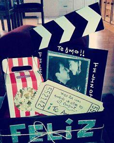 #DIY cine en casa!! Regalo para mi novio!!