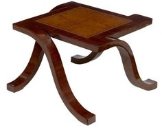 Art Deco Rosewood Coffee Table Cocktail Side Tables | eBay