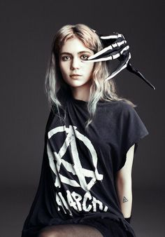 Grimes so cool....