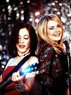 Sabrina and Valerie in the Band Episode.