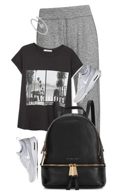 """Untitled #2235"" by misnik ❤ liked on Polyvore featuring Sweaty Betty, MANGO, Michael Kors, NIKE, women's clothing, women, female, woman, misses and juniors"
