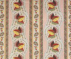 Tissus Tartares fabric close-up