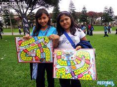 Metro de Lima regaló juegos en el Festibici-Final.