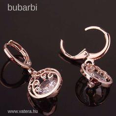 Feltűnő  18 karat  gold plated  arany fülbevaló - 1 Ft - Nézd meg Te is Vaterán - Beakasztós fülbevaló - http://www.vatera.hu/item/view/?cod=2223729974