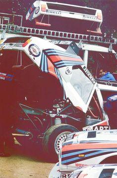 Lancia Delta S4 Martini #Lancia #Martini #Rally