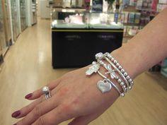 Jane's ChloBo bracelet stack! Gorgeous!  #bertiebrowns