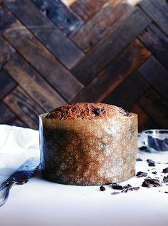 Chocolate-Studded Panettone, from Bread Toast Crumbs — such a great gift!