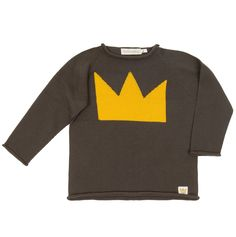 Jersey tricot corona fashion kids moda infantil algodón 100x100