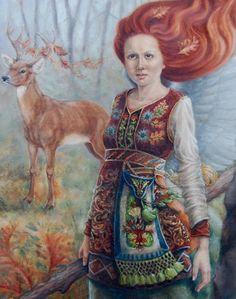 DEER ANGEL BY LINDA GRAVES