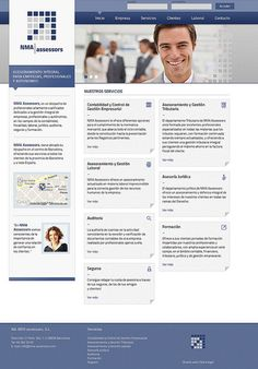 Diseño web NMA assessors | http://www.latevaweb.com/noticies/disenowebnmaassessors.html
