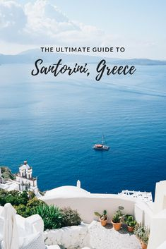 If there's one island I can never get enough of, it's certainly Santorini. This ultimate guide to Santorini, Greece is just a taste of incredibly beautiful this place is. There's plenty to do and see or for those who want to bask in the sun, this i Santorini Travel, Santorini Island, Santorini Greece, Flights To Santorini, Santorini Honeymoon, Greece Vacation, Greece Travel, Greece Trip, Travel Europe