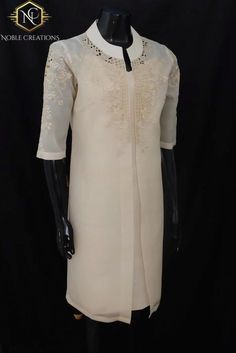 TUNIC BLAZER in COCOON Silk Embroidered Modern Filipiniana Dress Barong Tagalog Philippine National Costume Filipino Filipina Dress- Beige Modern Filipiniana Gown, Filipiniana Wedding, Barong Tagalog For Women, Philippines Dress, Philippines Culture, Grad Dresses, Short Dresses, Ootd, Gowns With Sleeves