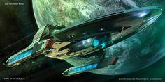 Merian class USS Planck by Mark Rademaker