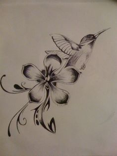 Jamaican national flower and bird..def will incorporate this into my next tat idea