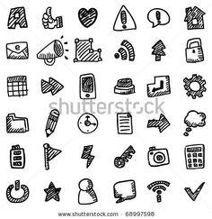 sharpie hand draw web icon by notkoo, via ShutterStock