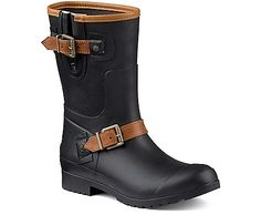 Are these warm enough for Detroit winter? Sperry Top-Sider Walker Fog Rain Boot