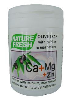 NATURE FRESH OLIVE LEAF CALMAG TABS 90