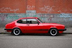 Mk3 Ford Capri 3.0S. Such a great location for a Capri pic, ace!