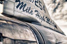 Aviation Photography, Colorado ANG F-16 Mile High Militia, Metallic Photographic Print
