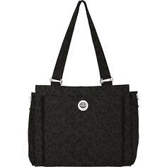 #FabricHandbags, #Handbags - baggallini Bali Satchel Cheetah B - baggallini Fabric Handbags